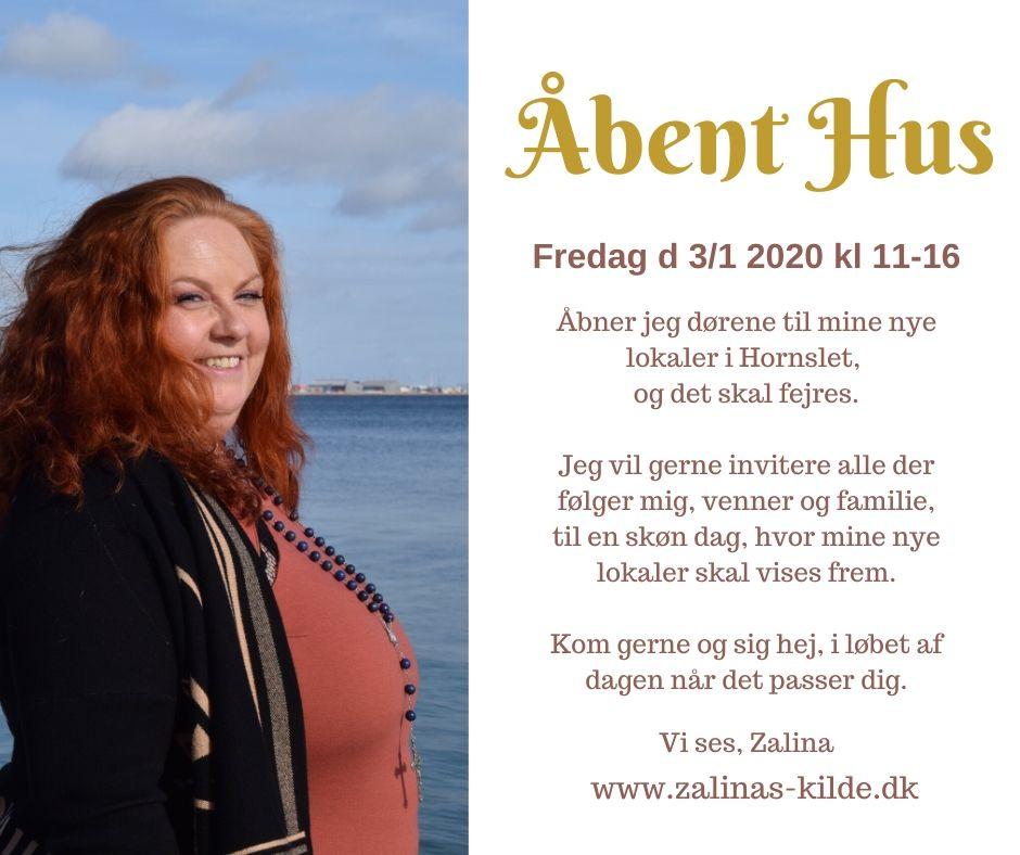 Åbent Hus Fredag d 3/1